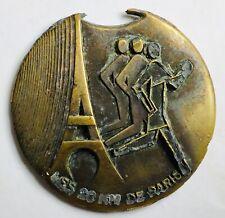 ANCIENNE MÉDAILLE LES 20 KM DE PARIS 12 OCTOBRE 1986 ASC AIR TROPHÉE ARMÉE AIR