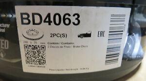 2x Front Brake Discs Vented 288mm for VOLKSWAGEN PASSAT B5 AUDI A6 A4 SEAT Exeo
