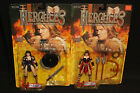 1996 Hercules The Legendary Journey Xena and Xena II Action Figure Lot of 2 -MOC
