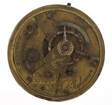 J RYLANCE WIDNES ENGLISH LEVER FUSEE POCKET WATCH MOVEMENT SPARES REPAIRS C238