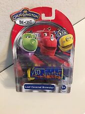 Chuggington-StackTrack-Die-Cast LEAF COVERED BREWSTER- NIP- Free 1st class ship