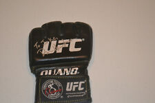 UFC PRIDE MMA Legend Dan Henderson autographed signed OUANO UFC glove to Jake
