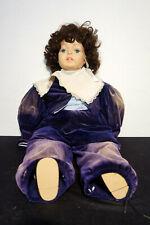 Antik 48cm Puppe Kleid QualitätPuppe Porzellankopf Spielzeugpuppe Antikspielzeug