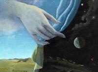 HELEN LUNDEBERG The Veil (1947) (62x45cm), CARRINGTON, CANVAS,POSTER FREE P&P