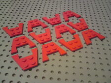 Lego Wings Double 4x3 - Red x16