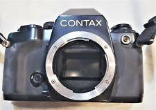 Contax 35mm Film Camera Black Body 159mm