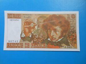 10 francs Berlioz 6-3-1975 F63/9 NEUF