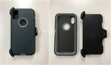 For Apple iPhone X 10 Heavy Duty Case Cover (Belt Clip fits Otter Box Defender )