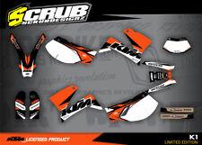 KTM LC4 Dekor 625 640 660 LC4 1999 - 2005 '99 - '05 Grafik - Set SCRUB