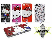 Cute Hello Kitty iPhone 4 4s 5 5s Hard cover Case