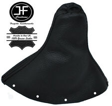 BLACK STITCH MANUAL REAL LEATHER GEAR GAITER FITS AUDI TT MK1 COUPE 1998-2006