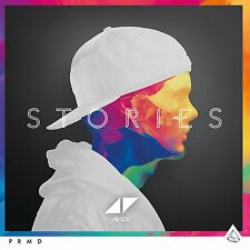 AVICII STORIES CD ALBUM - U.K. EDITION with A BONUS TRACK (October 2nd 2015)