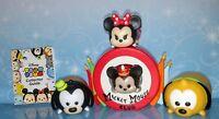Minnie & Mickey Mouse Goofy Pluto Tsum Tsum Mystery Stack vinyl  Stand Disney
