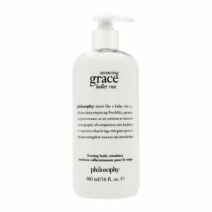 Philosophy Amazing Grace Ballet Rose 16.0 oz Firming Body Emulsion Brand New
