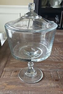 Southern Living At Home Devonshire Lidded Trifle 40626 Glass Candle Dish Dessert