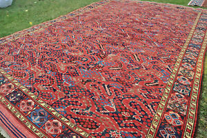COLLECTORS' PIECE Stunning Natural Vegetable Dye Washable Yamut Turkoman Rug