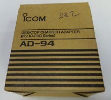 ICOM AD-94 desktop charger adaptater for IC-F3G Series