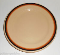 Shenango Restaurant China Inca Tri-Color Band Bread Plate! MINT