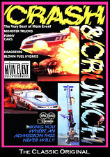 Drag Racing CRASH & CRUNCH, A Mishap Experienc, ,A Main Event Entertainment DVD