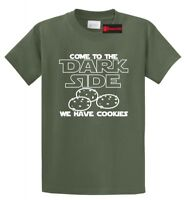 Come To Dark Side Have Cookies Funny T Shirt Nerd Gamer Movie Gift Tee