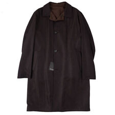 NWT $18,400 KITON Reversible Vicuna-Cashmere Overcoat 42 R (Eu 52) Outer Coat