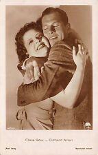 Portrait Real Photo Postcard Clara Bow and Richard Arlen hugging~111157