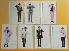 BTS Paper Stand Complete WINGS TOUR IN JAPAN JUNGKOOK V JIMIN JIN J-HOPE SUGA RM