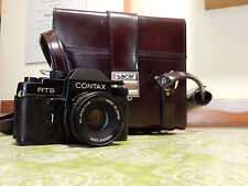 Fotocamera CONTAX RTS con ob. Yashica  ML 50mm 1:1,9 con borsa SACAR