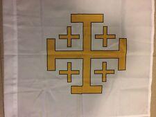 Drapeau catholique Croix De Jerusalem Flag Bandiera