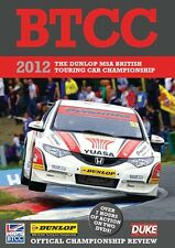 BTCC British Touring Car Championship - Official Review 2012 (2 DVD set) New