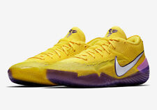 newest collection 06032 35d55 Nike Kobe AD NXT 360 Mamba Lakers Yellow Purple AQ1087-700 Men s Shoes Size  13