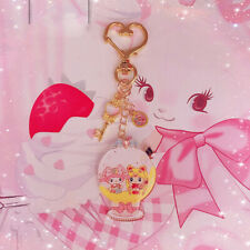 Cute Anime My Melody & Sailor Moon Key Chain Pendant Bag Car Keyring Girls Gift