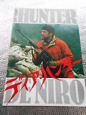 The Deer Hunter movie program Japan USED Robert De Niro Christopher Walken