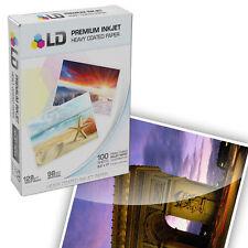 "Heavy Coated Matte Inkjet Printer Paper (8.5""X11"") 100 pack - High Resolution"