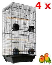 """Lot of 4 of 36"""" Large Canary Parakeet Cockatiel LoveBird Finch Bird Cage 170"""