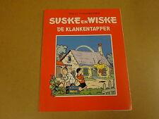 RECLAME UITGAVE HET NIEUWSBLAD / SUSKE EN WISKE ONGEKLEURD - DE KLANKENTAPPER