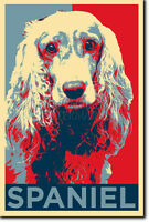 COCKER SPANIEL (ANIMAL) POSTER - Unique Photo Art Print Gift Cat Dog Lovers