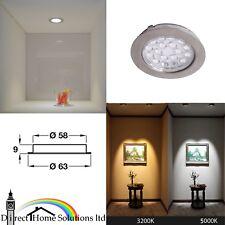 Loox Compatible HE LED Spotlight 12V Ø 63mm Bathroom / Kitchen Wet Area Lights