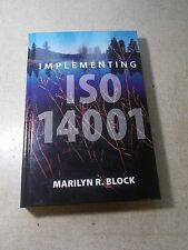 Marilyn Block Implementing ISO 14001 H0916 Manual *FREE SHIPPING*