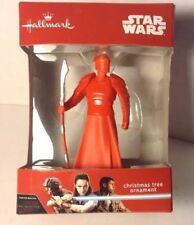 Star Wars The Last Jedi Praetorian Guard Christmas Tree Ornament Hallmark 2017