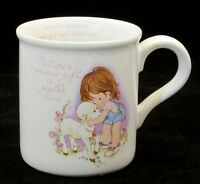 Coffee mug tea cup 1985 Gentle Hearts Love One Another American Greetings vtg