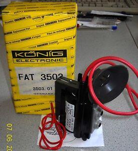KÖNIG FAT3503 Zeilentrafo, Ersatz für SABA 1192.0057, 4900071821