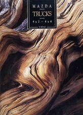 1993 Mazda B2200 B2600 Pickup Truck 4x4 Sales Brochure Book Catalog