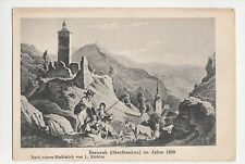 Germany, Berneck (Oberfranken) im Jahre 1839 Postcard, A600