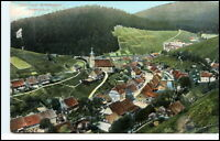 WILDEMANN Oberharz Harz AK 1908 Color Ansicht Totalansicht aus der Vogelschau