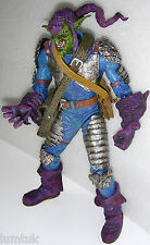 "Toy Biz Spiderman MARVEL LEGENDS 12"" GREEN  GOBLIN Super Posable Figure Loose"