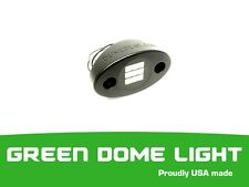 BILLET LED DOME LIGHT/ ROCK ACCENT YXZ RZR X3 ( GREEN ) MADE IN USA 1.75 RADIUS