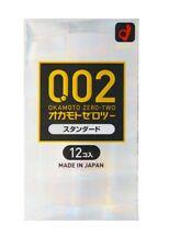 Okamoto Zero Two 002 Standard Condoms Ultra Thin 0.02mm from Japan