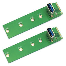 2pcs New NGFF M.2 To USB3.0 Adapter Converter Expansion Riser Card Power SATA3.0