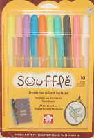 Sakura Souffle 3D Opaque Matte  Ink Pens Set of 10 New